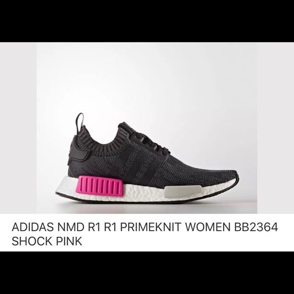 a80bc91bc7354 Adidas nmd r1 Black Pink Size US 6